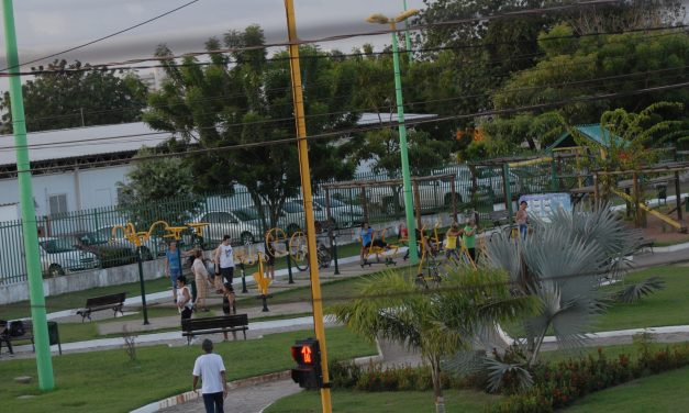 Atividade física em locais públicos
