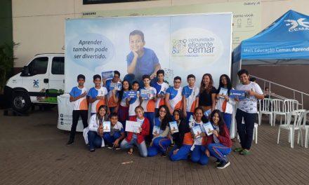 Projeto da Cemar Caminhão Mais Educação promove educação sobre eficiência energética