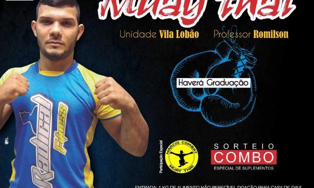 Esporte e solidariedade: Conheça sobre o Muay Thai e participe do aulão em apoio ao centro de recuperação Casa de Davi