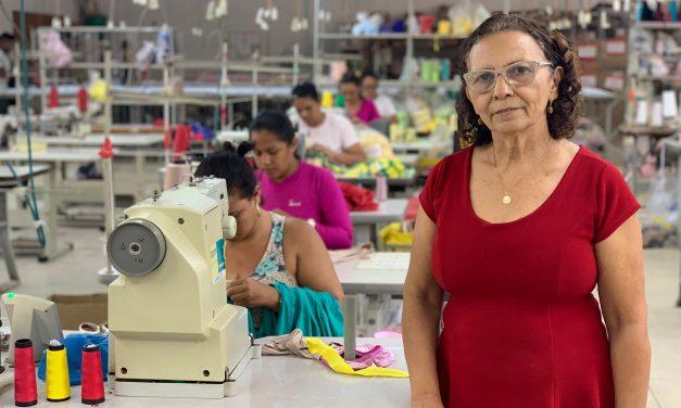 Entrevista com a empresária Maria da Cruz Oliveira sobre o mercado de lingeries na cidade