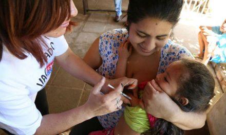 Maranhão alcança meta de 95% na cobertura de vacinação contra sarampo e poliomielite