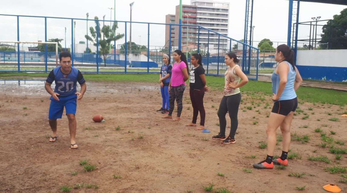 Primeiro time feminino de futebol americano é formado em Imperatriz
