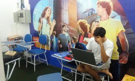 Espaço localizado no Tocantins Shopping é opção para quem não tem local de estudo