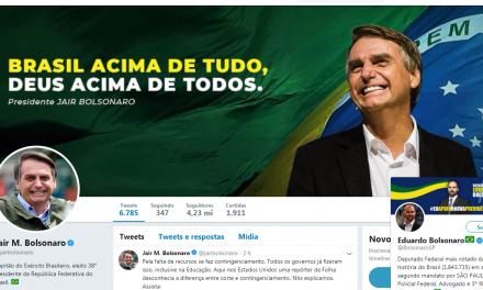 Usuários do Twitter ironizam números de seguidores de Jair Bolsonaro