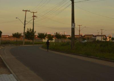 Estrada que liga o Pomar aos condomínios