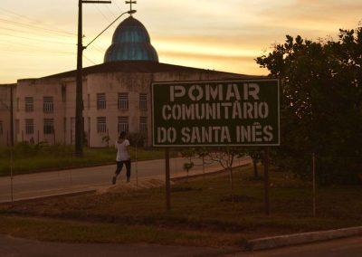 Paróquia Santa Inês que dá nome ao Pomar