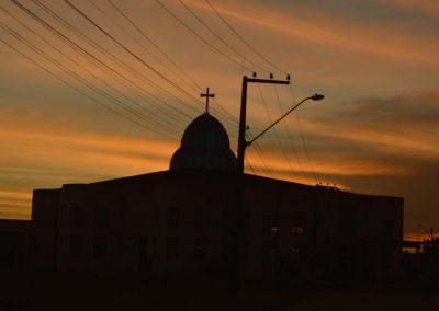 Igreja Matriz, Santa Inês ao pôr-do-sol