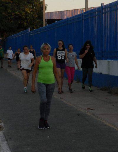 Pista de caminhada do Complexo