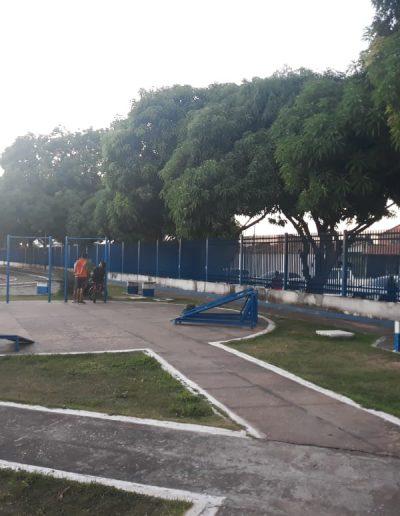 Área interna do Complexo Esportivo