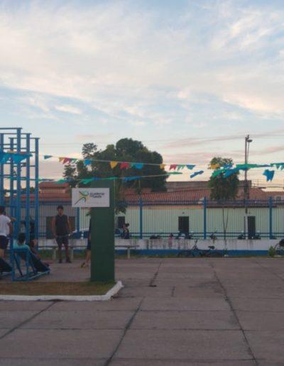 Academia ao ar livre do Complexo
