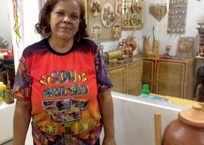 Simone Foncesa, presidente do Centro de Artesanato