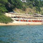 É tempo de praia no Rio Tocantins