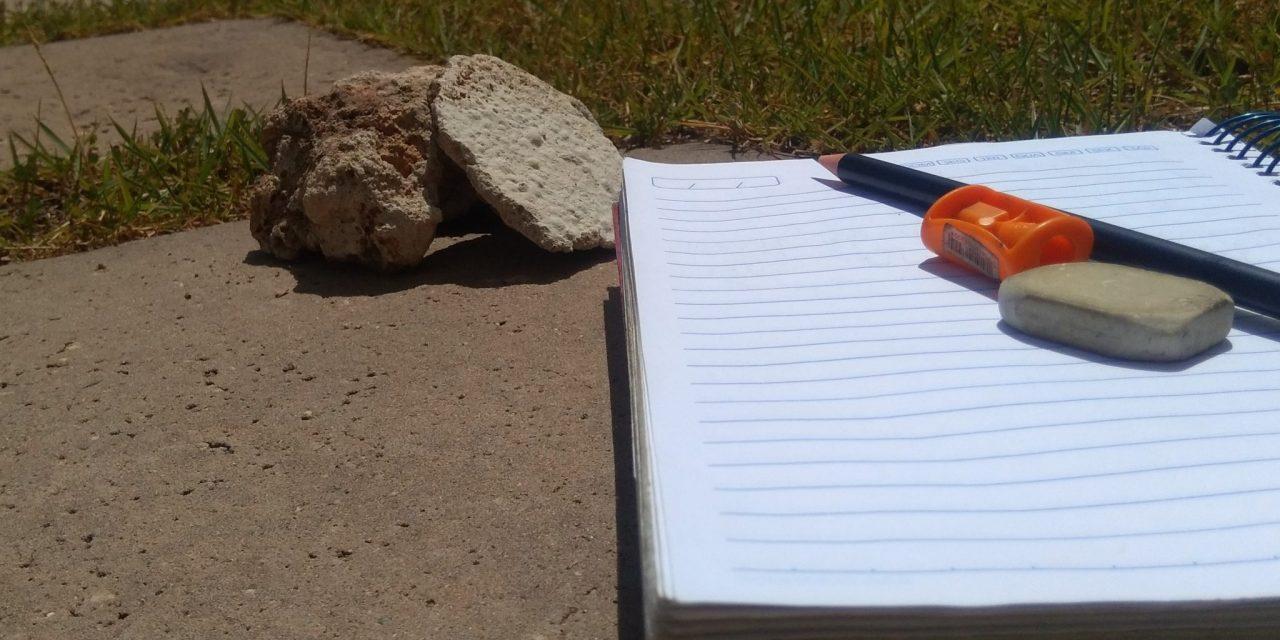 As pedras no caminho da escola