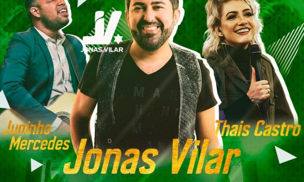 Jonas Vilar é presença confirmada no Louva Esperança