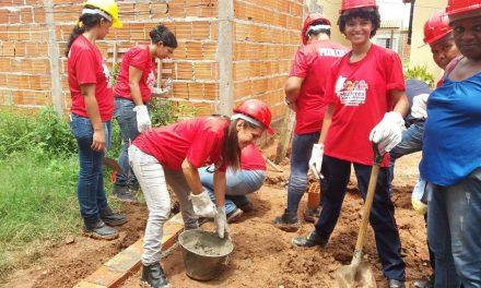 Mulheres quebram preconceito e põe a mão na massa da Construção Civil em Imperatriz