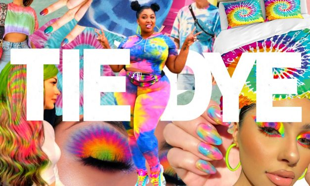 Conheça a tendência TieDye e dê um colorido na sua vida nesta pandemia