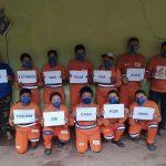 Servidores da limpeza de Amarante relatam desafios da pandemia