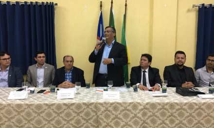 Obras no Calçadão e no Centro de Convenções são discutidas em reunião com Flávio Dino na ACII